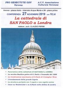 Conferenza 27 novembre 2019