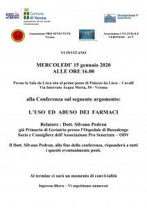 locandina conferenza del 15-01-2020